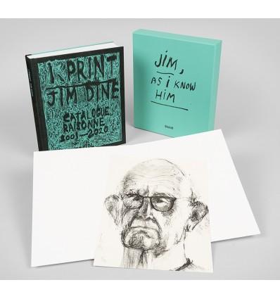 Jim Dine: Jim - As I Know Him - with an original lithograph