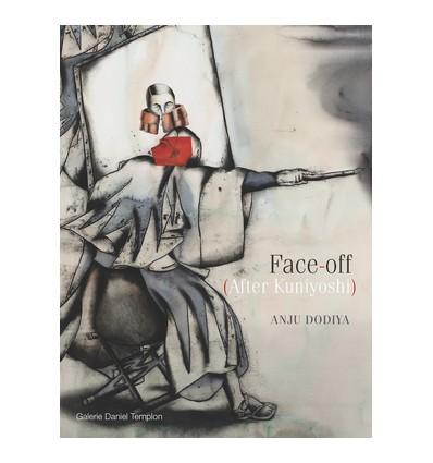 Anju Dodiya - Face-off (After Kuniyoshi)