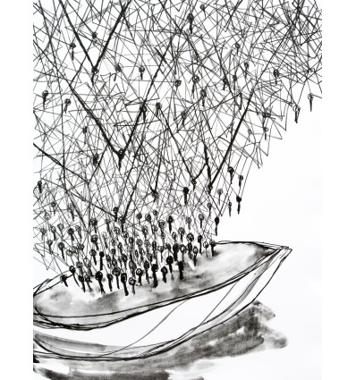 Chiharu Shiota - Holding the Memory - Lithograph