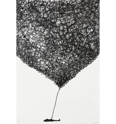 Chiharu Shiota - Ohne Titel - LIthograph