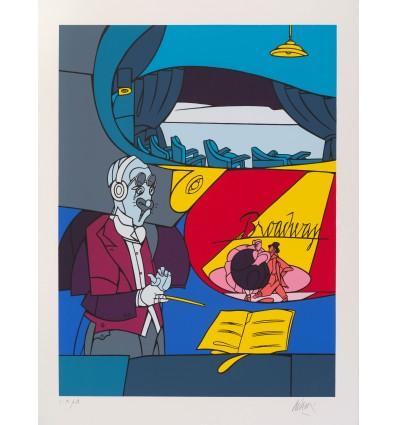 Valerio Adami - L'art du Violon