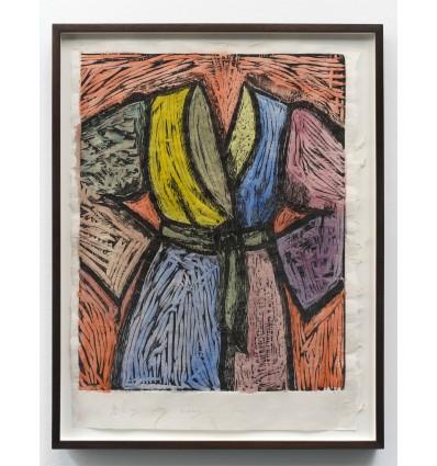 Jim Dine - Woodcut in Paris and Tokyo