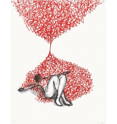 Chiharu Shiota - Hourglass